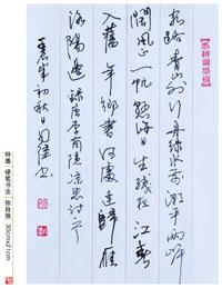 徐自强-硬笔书法(特邀)