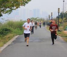 """市交通运输局开展""""低碳生活•快乐工作""""徒步健身活动"""